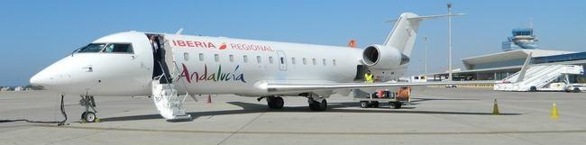 La ruta aérea Almería-Sevilla desaparece de los Presupuestos de la Junta de Andalucía para 2018