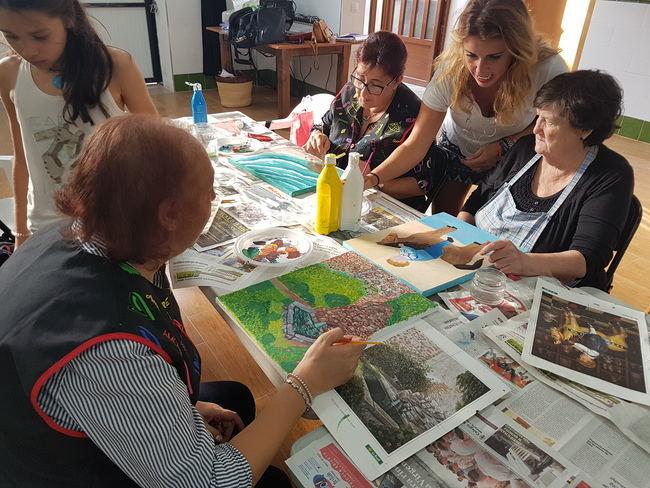 Alcolea renueva su compromiso con el arte a través de los Talleres 'Carmen de Burgos'