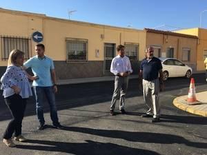 Los vecinos de Ejido Sur se beneficiarán de la mejora y modernización de más de 36.200 metros cuadrados de calles