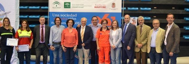 4.000 estudiantes aprenden técnicas de reanimación cardiopulmonar en el Palacio de los Juegos Mediterráneos
