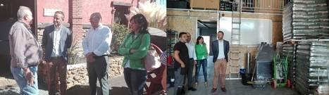 El delegado de Economía, Innovación, Ciencia y Empleo visita Energy & Tools y Bodegas y Viñedos Laujar