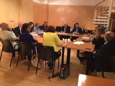 Los diputados andaluces del PSOE exigen al Gobierno del PP obras hídricas