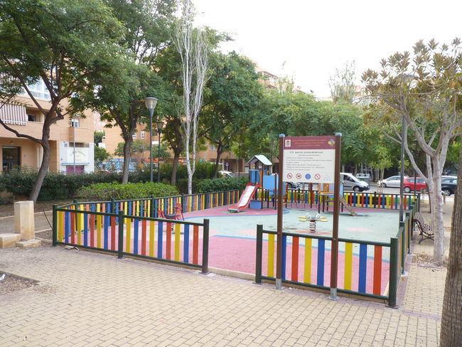 114.000 euros para remodelación de tres áreas de juegos infantiles