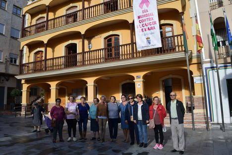Gádor se suma a los actos de concienciación contra el cáncer de mama