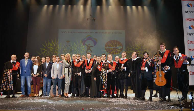 Las tunas de Derecho llenan de alegría y música el Auditorio Maestro Padilla