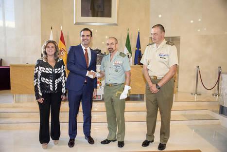 Ayuntamiento y Legión acuerdan potenciar la colaboración entre ambas instituciones