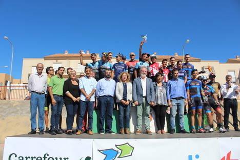 La Clásica Ciclista Máster del Bajo Andarax pone fin a su primera edición en Huércal de Almería
