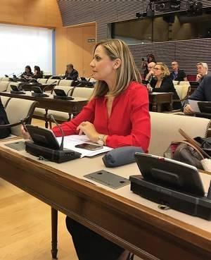 Maribel Sánchez afirma que el Ejecutivo del PP aumentará la aportación estatal del nivel mínimo de financiación de la Ley de Dependencia