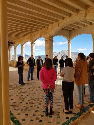 40 personas de varios países exploran su creatividad en el Castillo de Vélez-Blanco