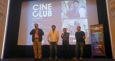 IEA y La Factoría rinden homenaje al Cineclub Almería VO 35 en su XV aniversario