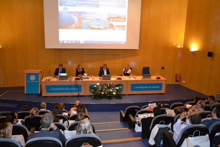 La Inspección de Servicios de la UAL reúne a las universidades públicas en unas jornadas