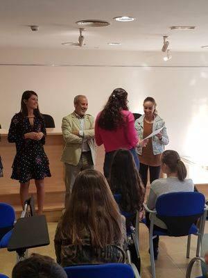 Entrega de diplomas en Vera a alumnos de 'Ocio y Tiempo Libre'