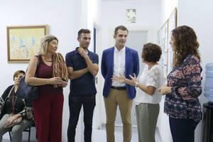 """El alcalde destaca el """"magnífico trabajo"""" que realiza Proyecto Hombre Almería"""
