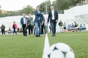 Diputación dota a Purchena de un nuevo complejo deportivo y recreativo al aire libre