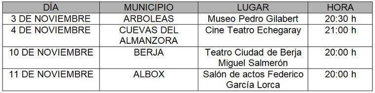 FICAL acercará su 'Ciclo Jazz y Cine' a cuatro municipios de la provincia