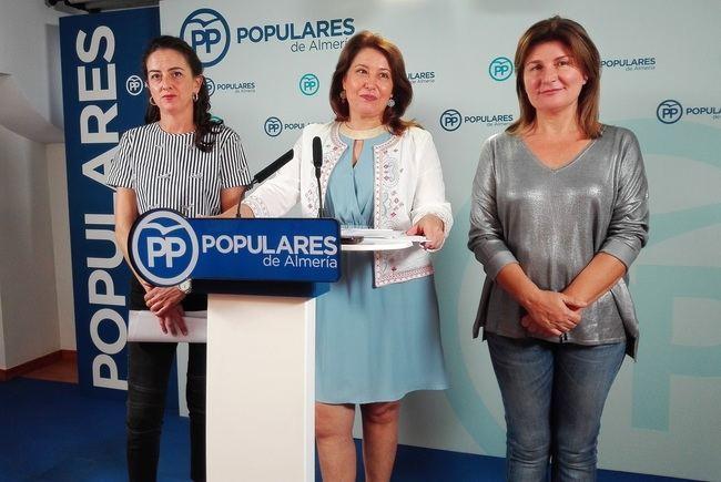 """Partido Popular denuncia los """"incumplimientos"""" de Susana Díaz en materia de agua en Almería"""