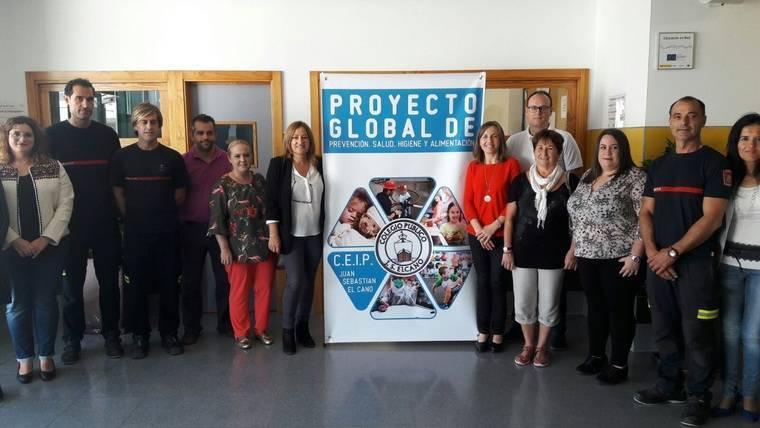 El CEIP Juan Sebastián Elcano desarrolla un programa de hábitos saludables