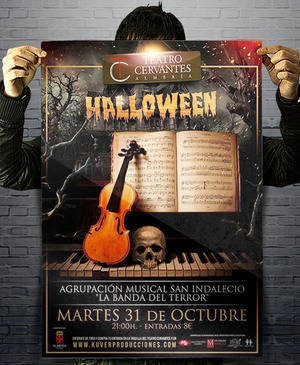 'La Banda del Terror' en 'La Noche en Negro' en el Teatro Cervantes de Almería