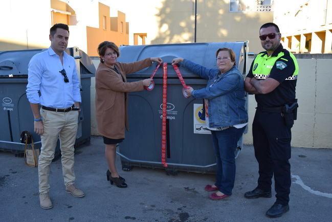 Campaña de concienciación ciudadana para evitar que se saque la basura a deshoras