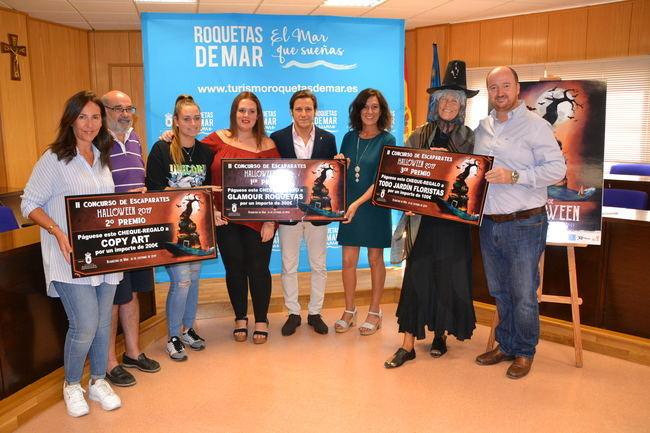Glamour Roquetas gana el II Concurso de Escaparates de Halloween