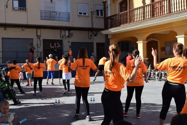 La Villa de Gádor celebra la I Fitness Party Solidaria a beneficio de Caritas