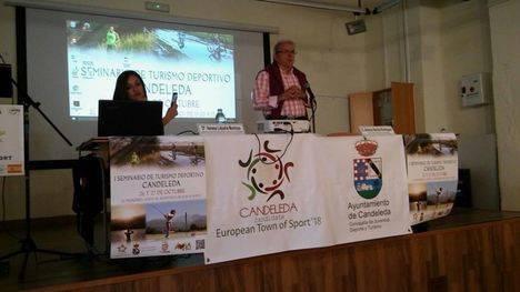 Bonilla expone en el Seminario de Turismo Deportivo de Candeleda la repercusión de ser Villa Europea del Deporte