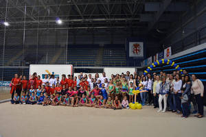 395 niñas de 12 provincias practican deporte en la 16º Olimpiada del Club Almedina