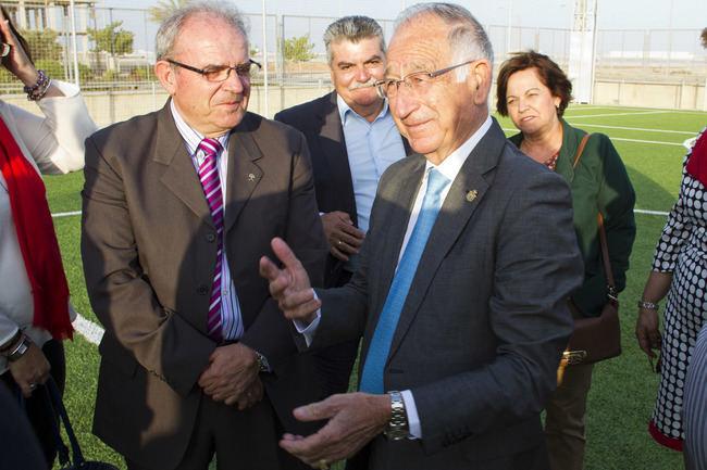 Diputación impulsa nuevas instalaciones deportivas en La Envía (Vícar) con 420.000 € de inversión