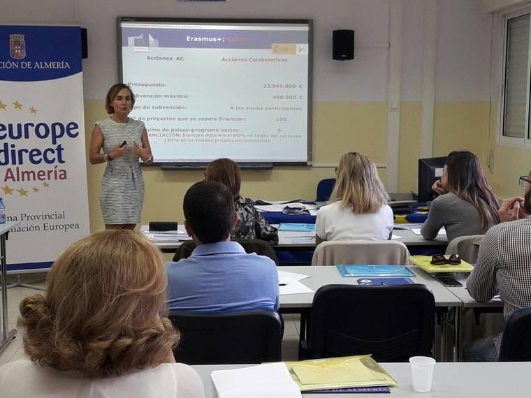 Los proyectos deportivos europeos centran el taller de introducción al programa Erasmus+
