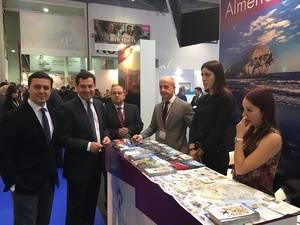 'Costa de Almería' acapara la atención de profesionales en la primera jornada de la World Travel Market