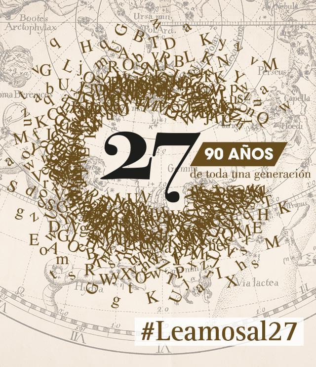 Homenaje a la Generación del 27 en el noventa aniversario de su constitución