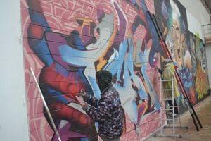 Novedades en el concurso de graffiti del Hip Hop Street Vícar