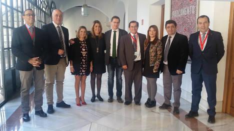 Sánchez Teruel celebra el respaldo de Susana Díaz a la creación de una ciudad del cine en la provincia