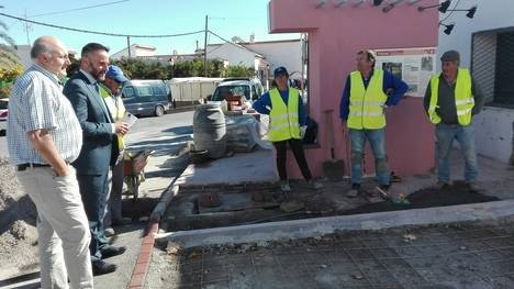 La Junta de Andalucía financia con 19.900 euros las obras del PFEA en Padules