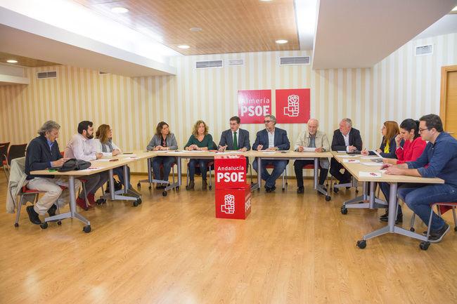 Sánchez Teruel dice que la Junta incluye el estudio para el tren de cercanías del Bajo Andarax en los Presupuestos