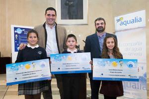 Cuatro almerienses finalistas del Concurso Internacional de Dibujo Infantil de Aqualia