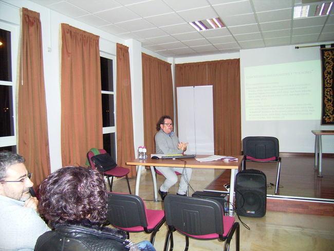 Norberto Torres habla de Arcas, Torres y la guitarra en Roquetas de Mar