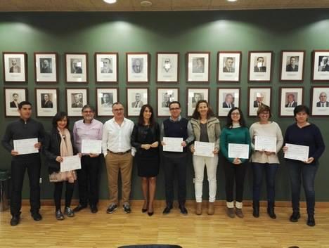 Diputación clausura el máster de Experto en Gestión de Empresas en Alhama de Almería