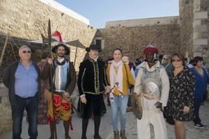 Carboneras revivió este fin de semana el siglo XVI en el Castillo de San Andrés