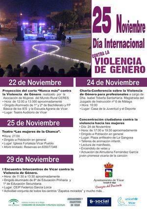 La proyección del corto 'Nunca más' de CERES abre el Día contra la Violencia de Género'