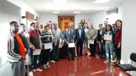 285.000 euros para contratar 33 personas desempleadas en La Mojonera