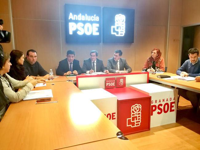 """Unidad de acción en el PSOE para que el Gobierno de España dé """"prioridad"""" al eje eléctrico"""