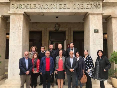 Municipios del Levante y Alto Almanzora reclaman la red eléctrica Vera-Baza-Caparacena