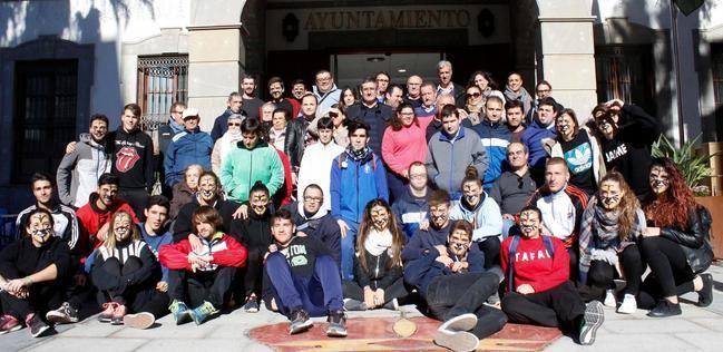 """El alcalde de Adra apunta el """"compromiso"""" con las personas con diversidad funcional"""
