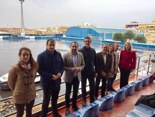 La Junta destina 100.000 euros a la mejora del campo de fútbol de Adra