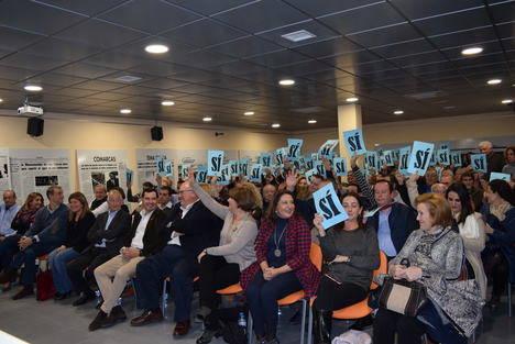 """Gonzálvez seguirá al frente del PP de Gádor con """"más ilusión y ganas que nunca"""""""