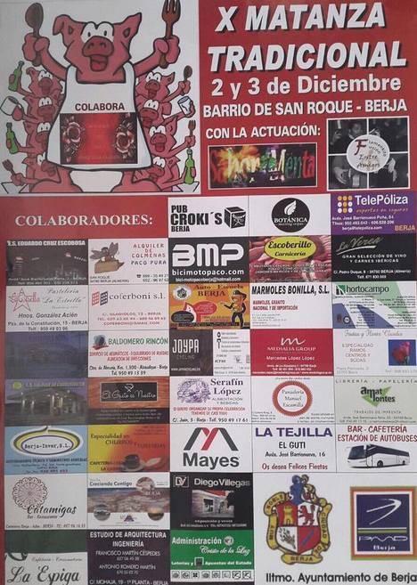 La Fiesta de la Matanza de San Roque celebra su décimo aniversario este fin de semana