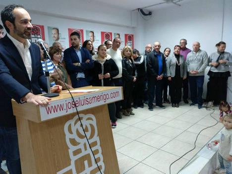 José Luis Amérigo elegido por unanimidad secretario general del PSOE de Carboneras