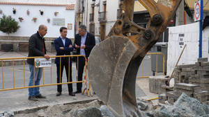 Diputación invierte 150.000 € en mejorar la red de abastecimiento de Olula del Río