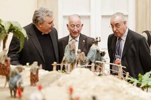 Más de 600 figuras forman parte del tradicional Belén Navideño de Diputación